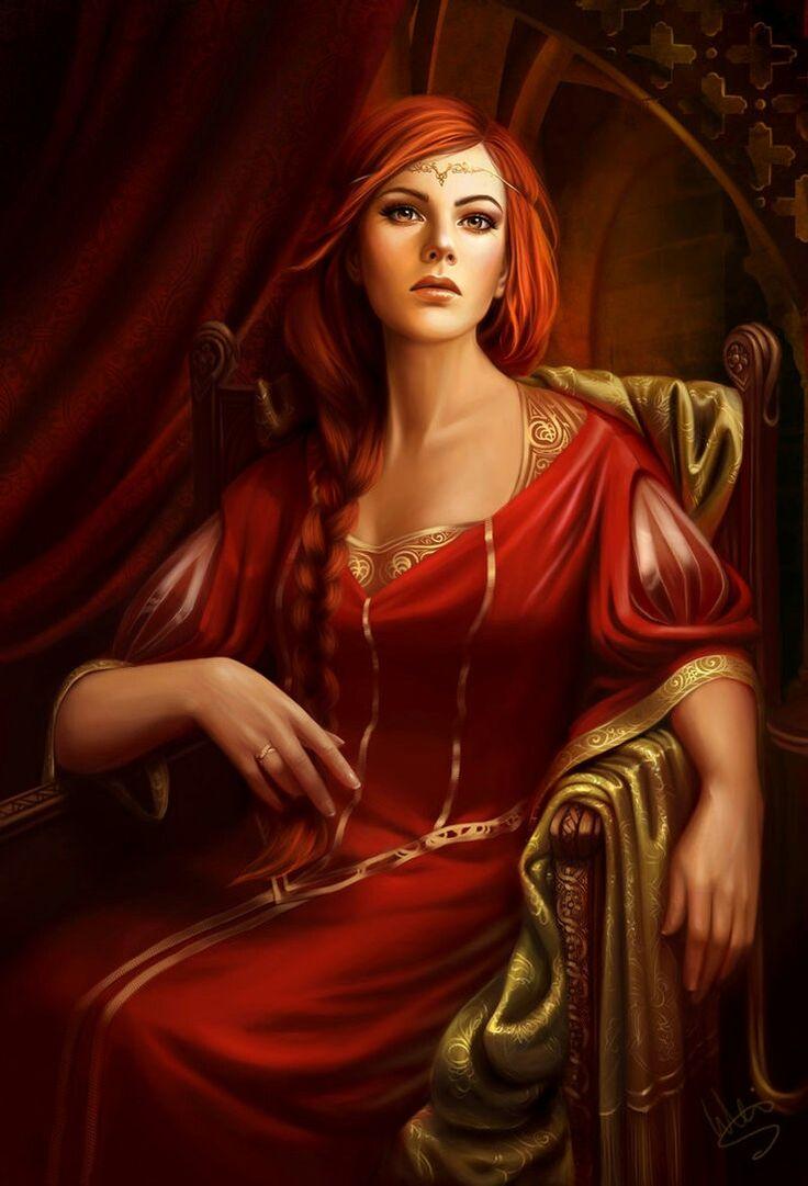 Lydia Gardport, a filha mais velha de Joseph, é uma mulher firme e honrada, sendo um exemplo de moralidade para as outras donzelas de Gwaren.