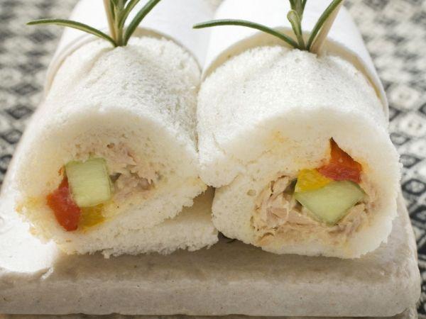 lunchboxideetjes Broodrolletjes met tonijn - Libelle Lekker!