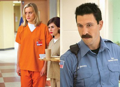 Orange is the New Black Halloween Costumes - Piper Chapman and ...PORNSTACHE!!!