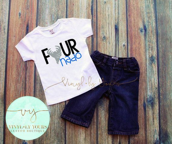 Fournado Shirt Four Year Old Shirt Shirts for by VYCustomBoutique