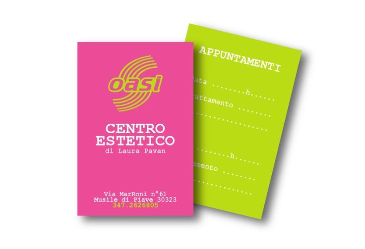 Business Card #Estetica Oasi