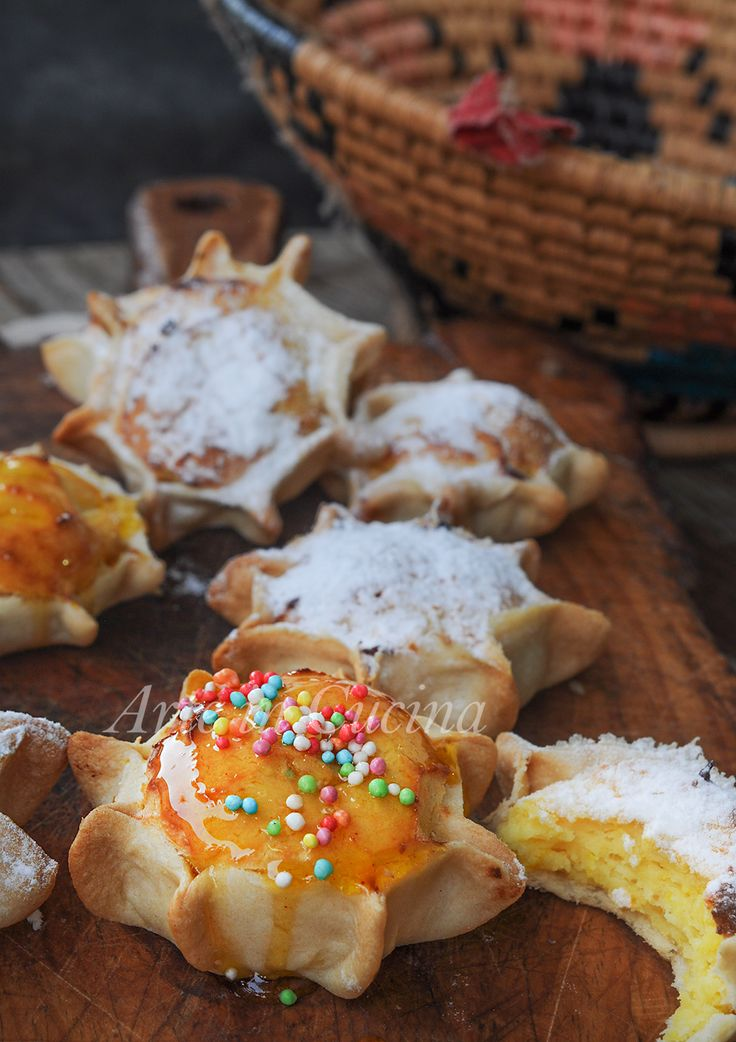 Pardulas dolci alla ricotta ricetta sarda vickyart arte in cucina