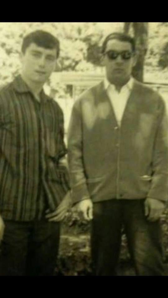 Ronnie Kray and his boyfriend Bobby Buckley.