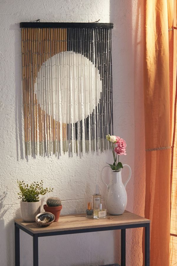 Neha Bamboo Beaded Wall Hanging Bamboo Wall Decor Home Decor