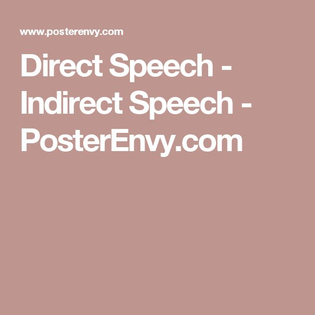 direct and indirect speech pdf