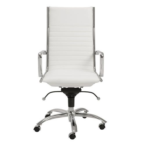Dirk High Back Adjustable Height Chair