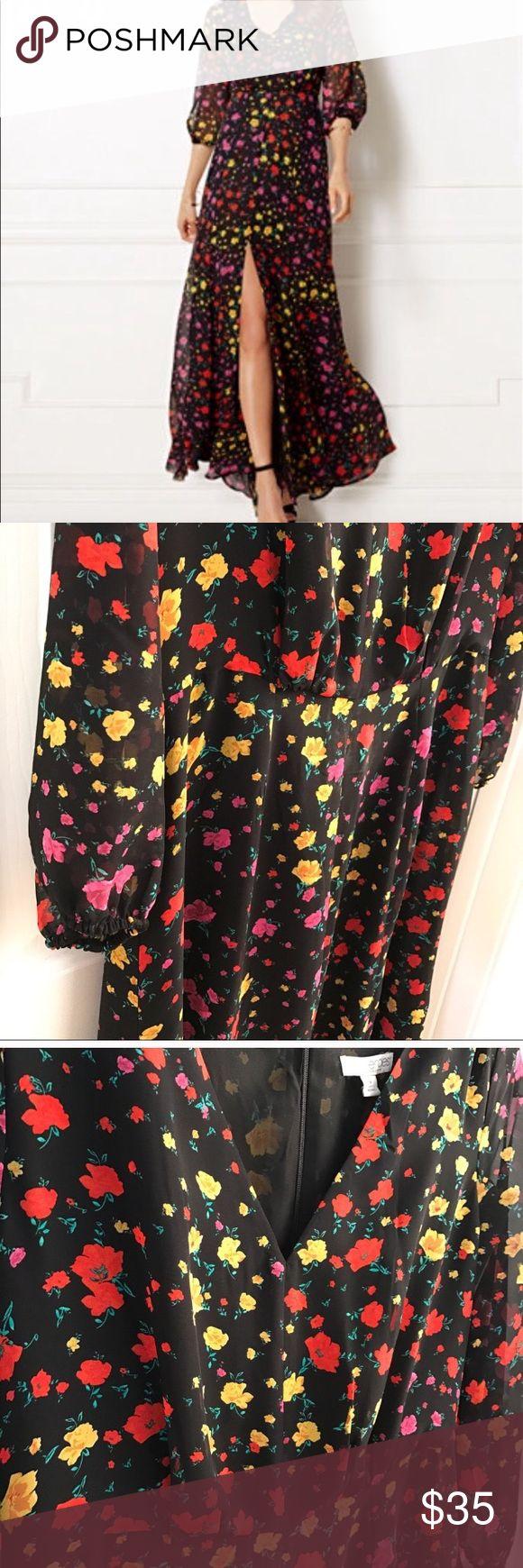 Maxi dress Eva Mendes Maxi Dress Eva Mendes collection. Floral Dresses Maxi