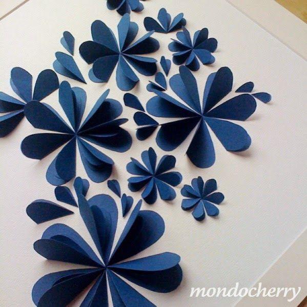 Okulöncesi Sanat ve Fen Etkinlikleri: Kalpler ile 3 Boyutlu Çiçek Yapımı