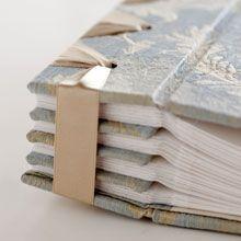 Priscilla Foster Handmade- the Tristan Album using Japanese stab binding