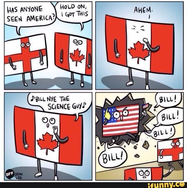 Best Canadian Humor Images On Pinterest Canada Funny Canada - Map of us added to canada meme