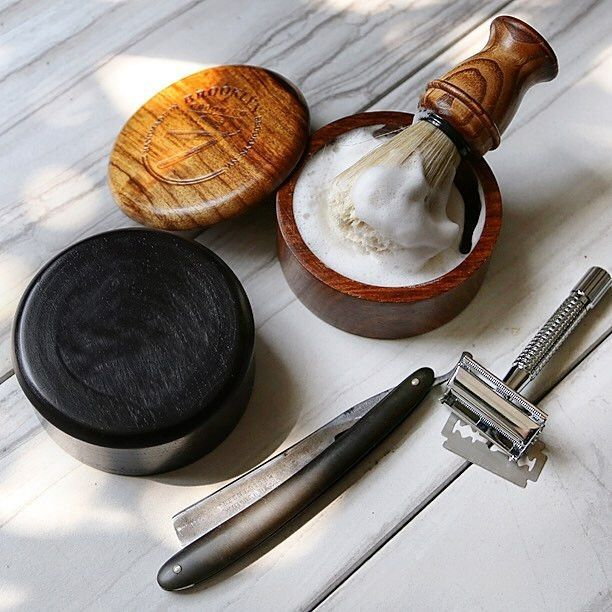 Activated Bamboo Charcoal High Lather Shaving Soap