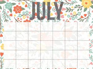 Printable Calendar by Smart School House - Google Drive