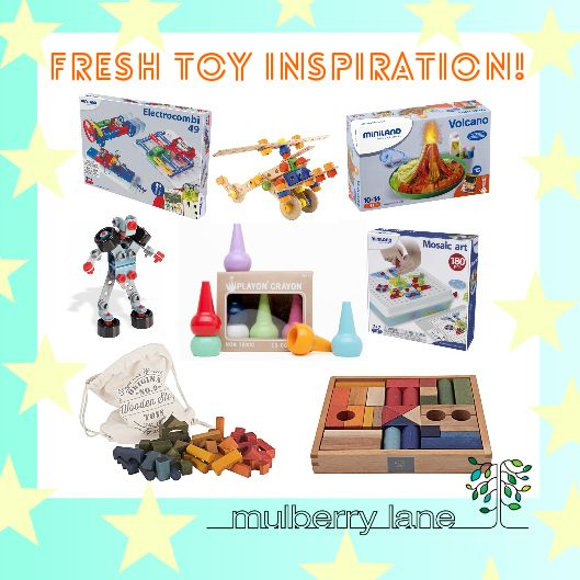 Fresh toys have landed at Mulberry Lane!
