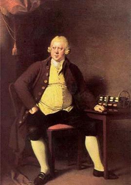 -더비의 조셉 라이트, 리차드 아크라이트경의 초상, 1789~1790  -18세기 후반, 산업혁명과 함께 초상화 시장에는 귀족 못지 않은 유력한 고객층이 새롭게 등장  -리차드 아크라이트경 뿐만 아니라 다양한 부류의 초상화들을 조사해 볼 것.