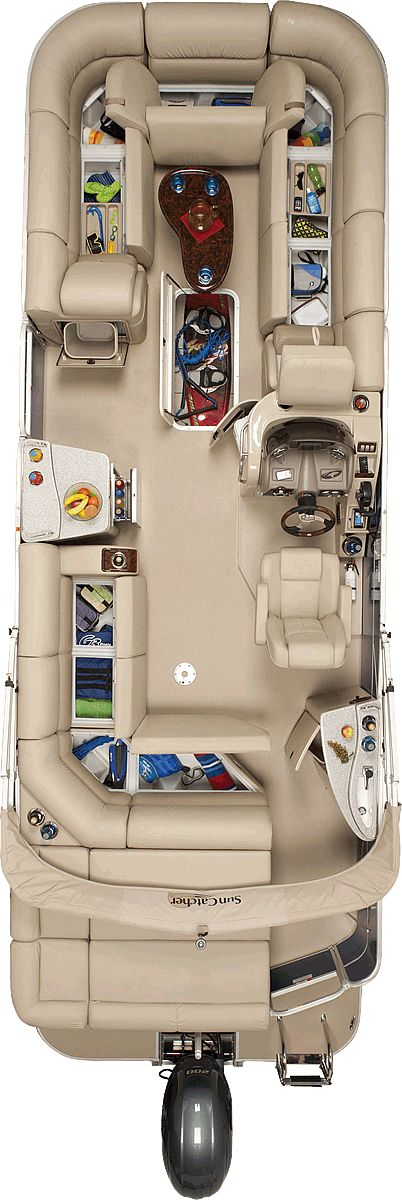 Elite 326 C | SunCatcher Pontoons by G3 Boats