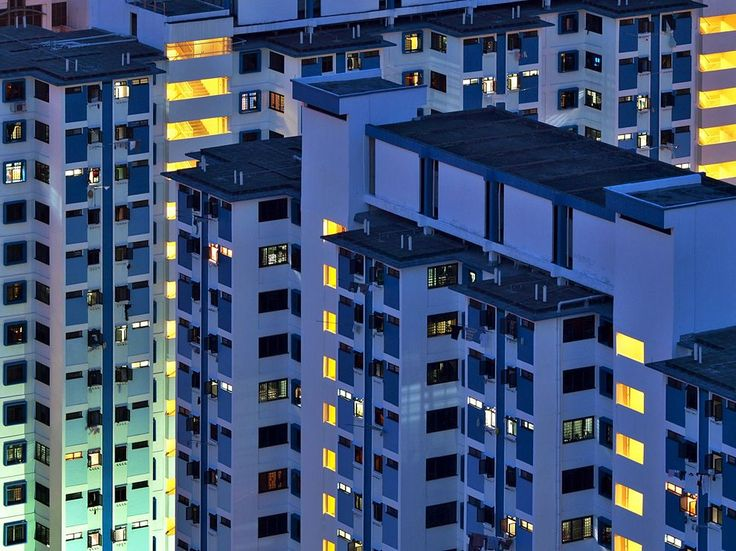 NatGeo: Photo of the Day: Apartment Buildings, Singapore
