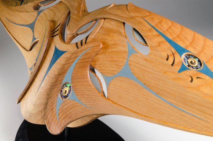 Kaitiaki • Guardian by Todd Couper, Māori artist (KC140901)