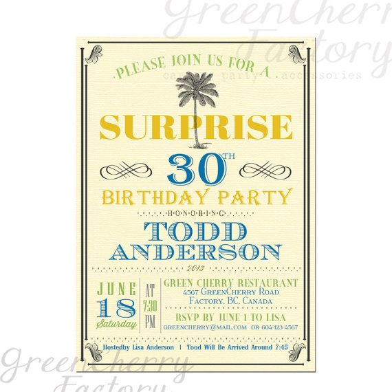 19 best Its 5 Ou0027Clock Somewhere Party images on Pinterest Clock - birthday invitation model