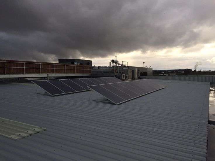 15kW commercial grid connected PV in Port Melbourne -- This customer was sick of the ever increasing electricity charges wrecking the bottom line profit of his business. After analysing his electrical usage which was predominately daylight hours, We installed a roof mounted 15kW solar power system and have reduced his electricity bills by 70-80%  this business operates 5 days per week and based on current electricity fees, we estimate that he will recoup his initial outlay in 4-5 years…