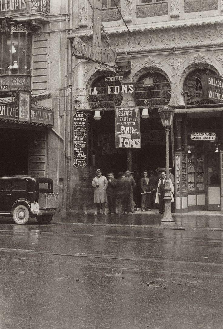 Calle de las Barcas (1932)