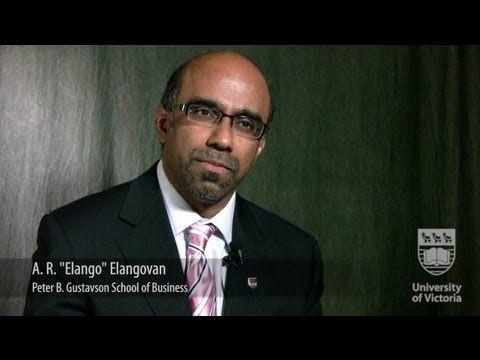 """Faces of UVic Research: AR """"Elango"""" Elangovan"""