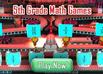 5th Grade Math Games - Kids Math Games Online
