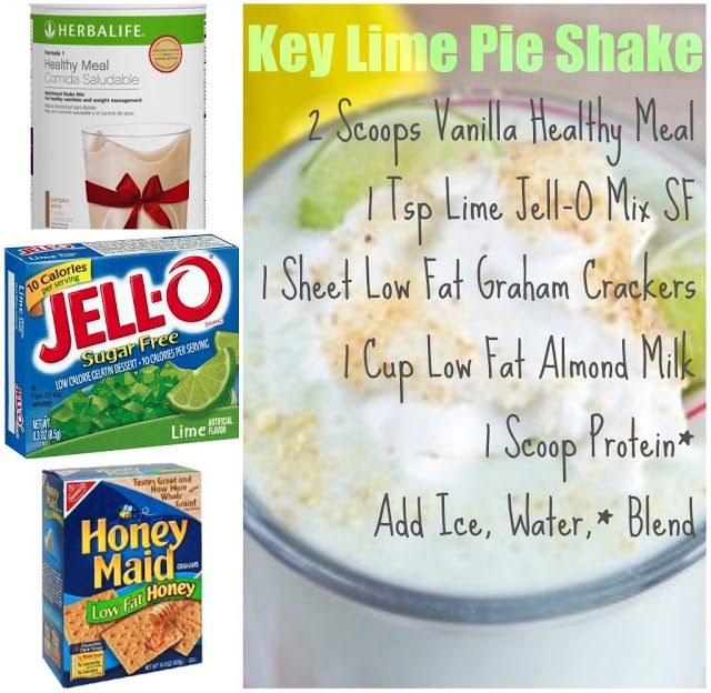 Herbalife Key Lime Shake. Message me on how easy it is to lose weight.
