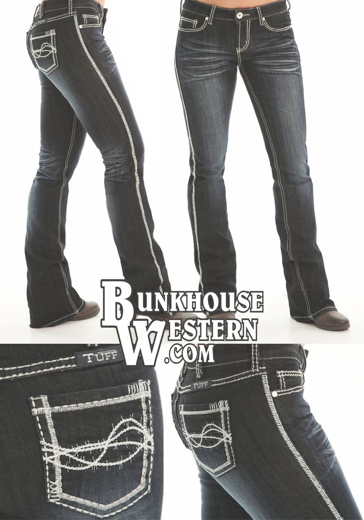 Cowgirl Tuff Co Jeans, Indigo Cream, Dark Wash Denim, No holes, Rodeo, Country Girl, Rock N Roll, Cruel Girl, Miss Me, $94.99, http://bunkhousewestern.com/INC/