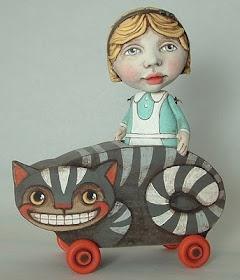 ...: Alice in Wonderland  L' illustrateur argentin Lu Bicalho et ses oeuvres pleines de tendresse :