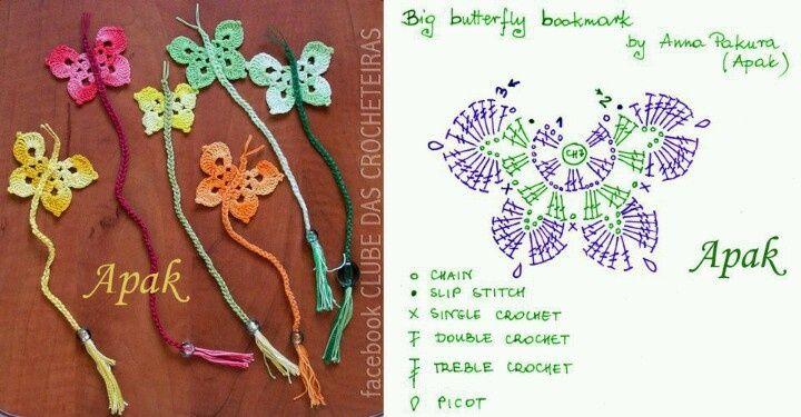 Farfalle uncinetto