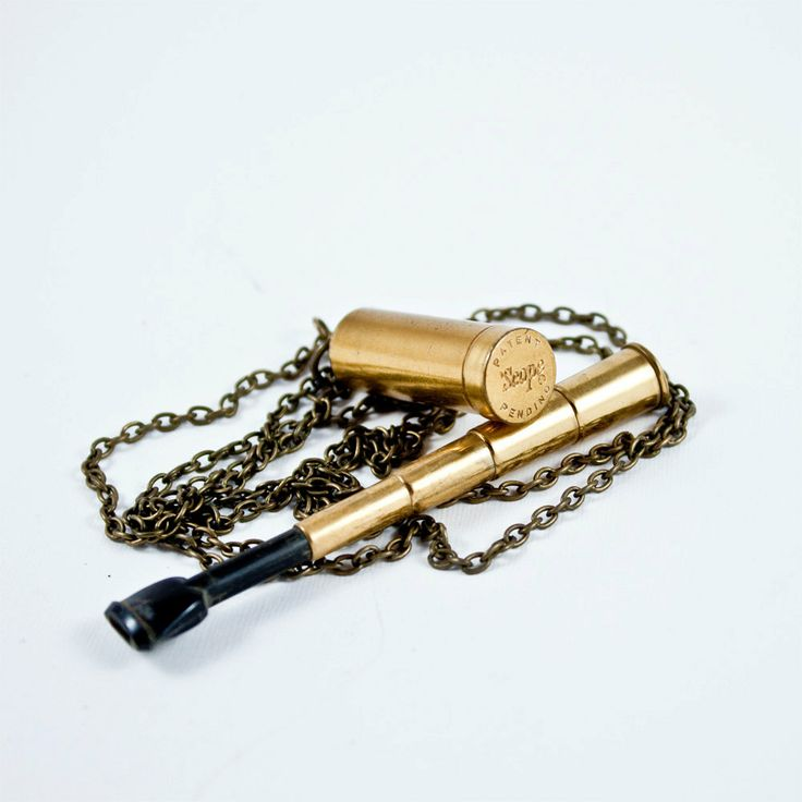 Vintage Telescopic Cigarette Holder Necklace by eksterhuis on Etsy