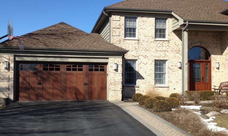 91 best images about clopay faux wood garage doors on for Buy clopay garage doors online