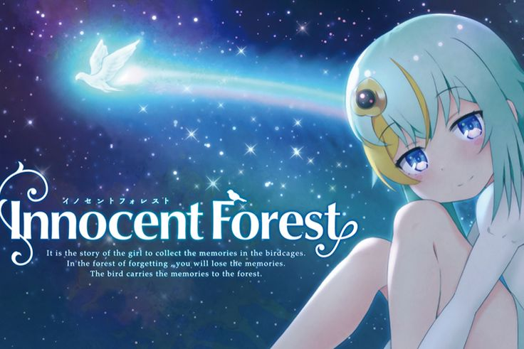 """Dive into a #lightnovel with """"Innocent Forest,"""" an immersive reading adventure. http://blog.viewster.com/innocent-forest-light-novels-put-you-in-the-story/?utm_campaign=crowdfire&utm_content=crowdfire&utm_medium=social&utm_source=pinterest @viewster"""