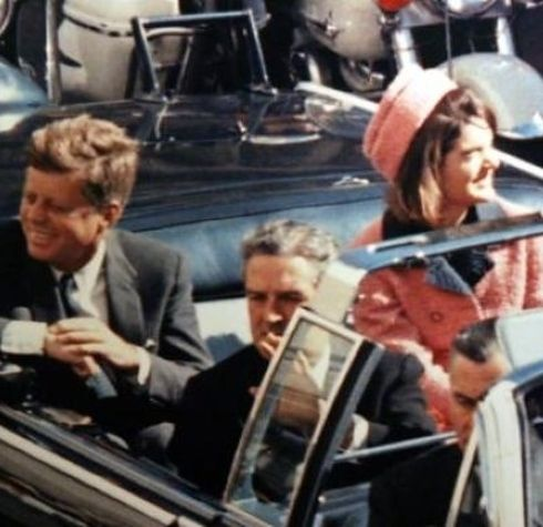 Both men were shot in the back of the head and in the presence of their wives.   10 Weird Coincidences Between Abraham Lincoln And John F.Kennedy