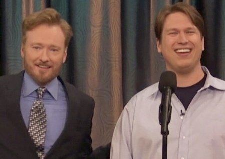Conan + Pete....all giggles