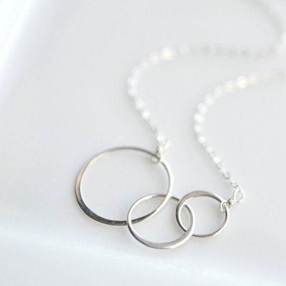 17 best ideas about interlocking circle necklace on