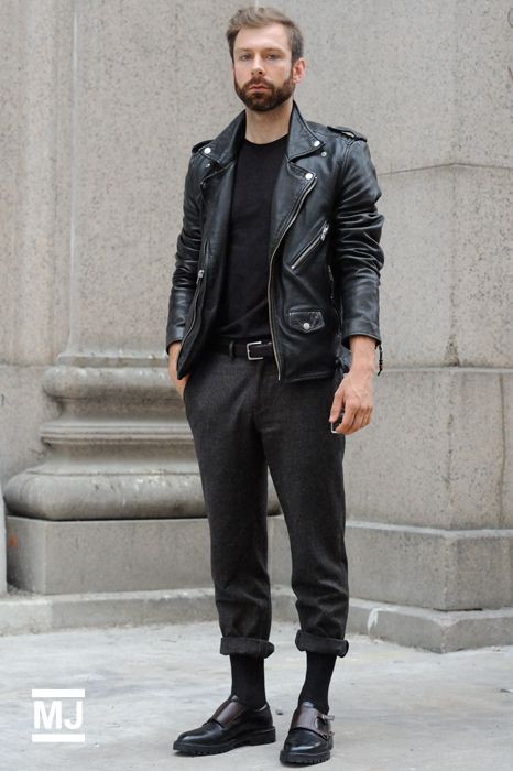 Fashion leather jackets for men 15