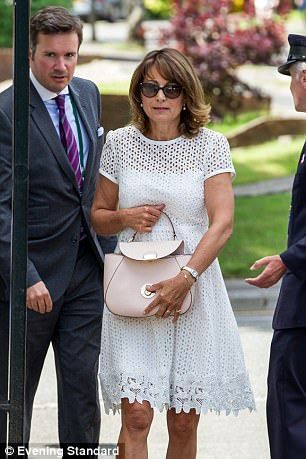 The A-Z of Pippa's big day: Carole's the party planner #dailymail