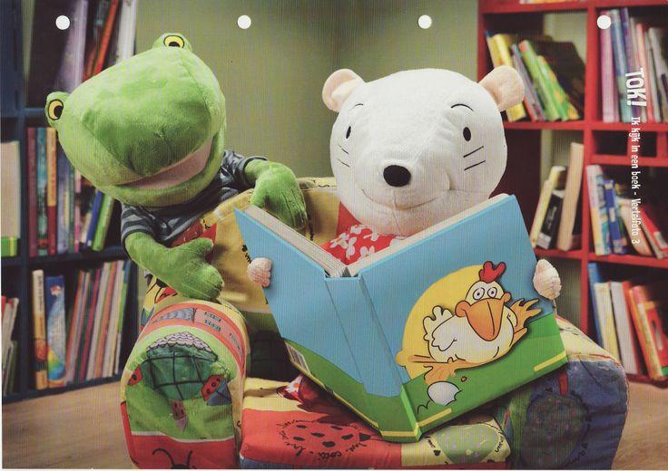 Ik kijk in een boek!