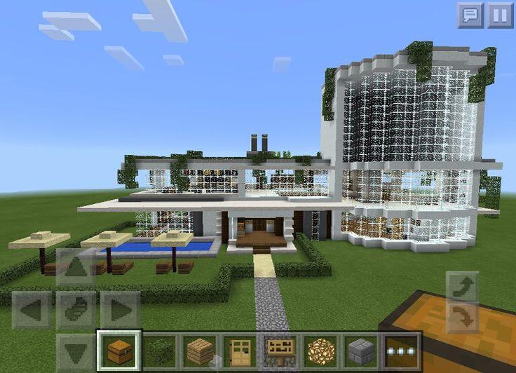 M s de 25 ideas incre bles sobre minecraft moderno en for Minecraft moderno