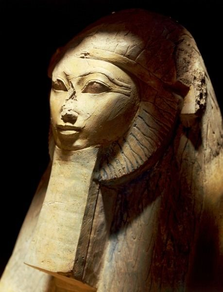 Sphinx of Queen Hatshepsut, statue from Deir el-Bahari Reign ca. 1478-1458 BC, New Kingdom, 18th Dynasty. Hatshepsut was the second historically confirmed female pharaoh, the first being Sobekneferu. Egyptian Museum, Cairo.