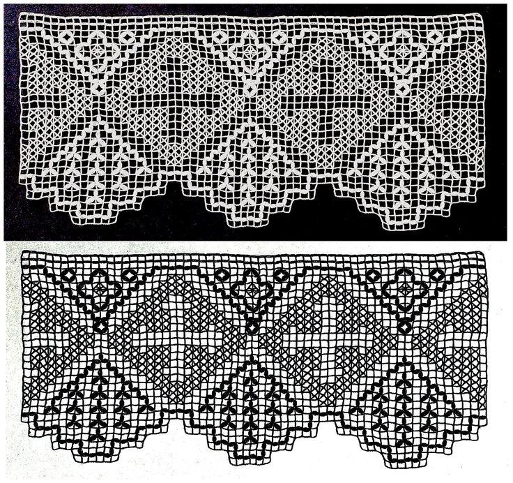 Hermosa Los Patrones De Crochet Filet Religiosa Bosquejo - Ideas de ...