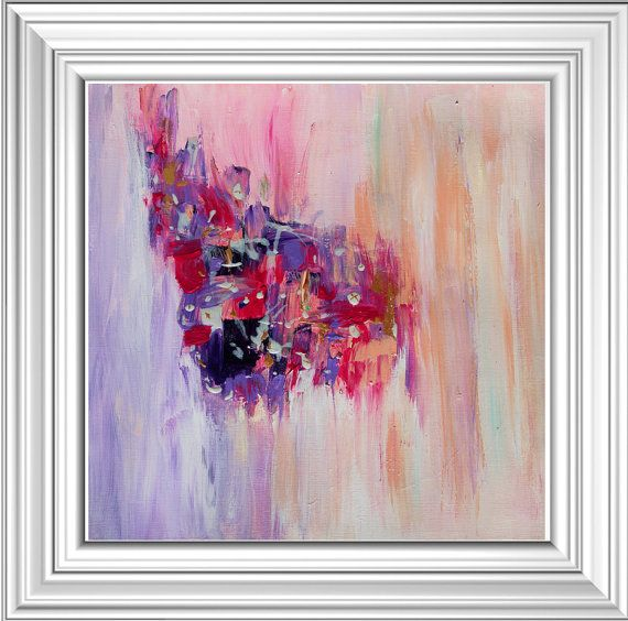 The #Print Options are: 1 - No wrap (Unstretched) Comes Rolled In A Tube in your home, with an extra 2.3'' white border for frame or stretching by your framer. 2 - Ready to ... #art #painting #print #abstract #originalart
