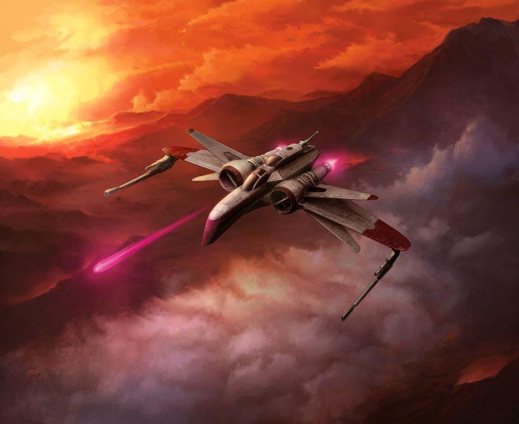 Copyright Fantasy Flight Games.  ARC-170 Starfighter.  era of the 'Clone Wars'.