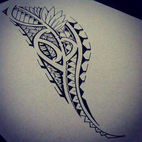 Best Polynesian Tattoo Designs Ideas: 6 Awesome How To Draw Hawaiian Tribal Designs Images