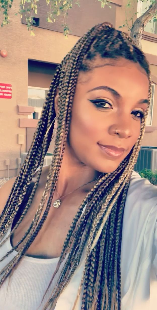 1 Month Old Knotless Braids Protectivestyles Braids