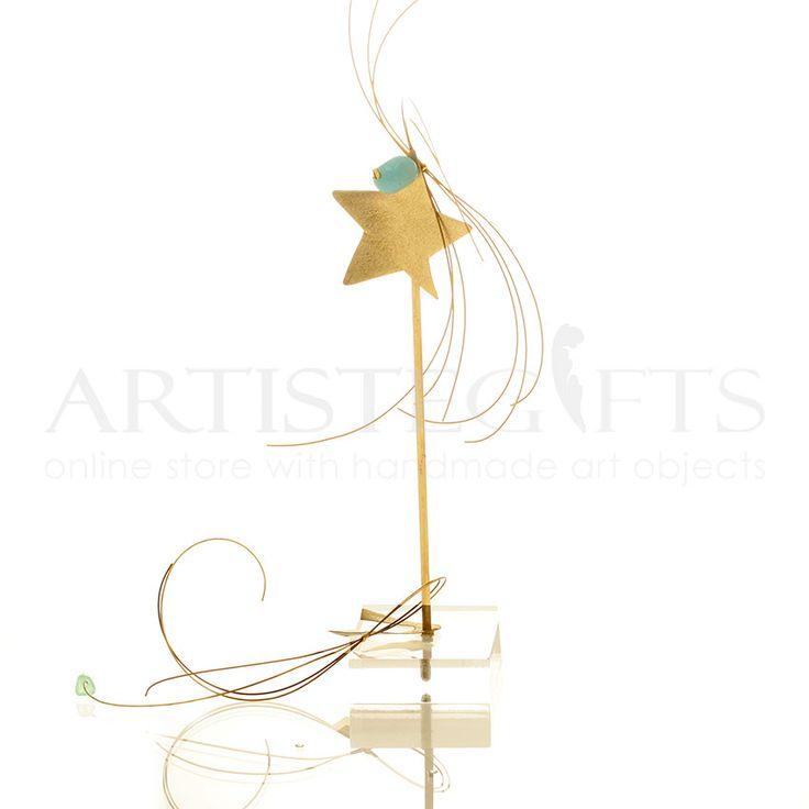 Αστέρι, Πέταλο Με Ημιπολύτιμους Λίθους Σε Βάση,  Κωδικός: AGMBB1023 Αποκτήστε το δικό σας εύκολα online http://www.artistegifts.com/asteri-petalo-imipolitimous-lithous-vasi.html