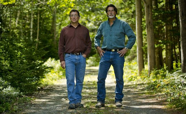 OAK ISLAND | Curse of Oak Island reignites centuries-old treasure hunt | History Channel television show depicts two brothers searching for long-sought Nova Scotia treasure | Marty Lagina (left) and Rick Lagina are the subjects of a new show on the History Channel that chronicles their efforts to find treasure on Oak Island in Nova Scotia. (History Channel)