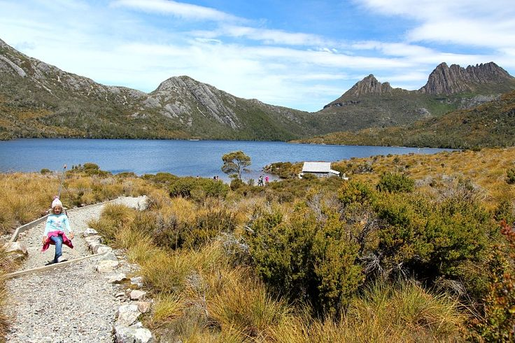 Walking in the Shadows of Famous Cradle Mountain in Tasmania