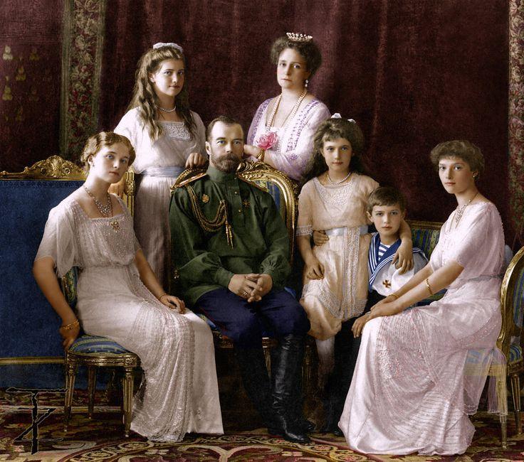 Romanov Family 1913 by tashusik on DeviantArt